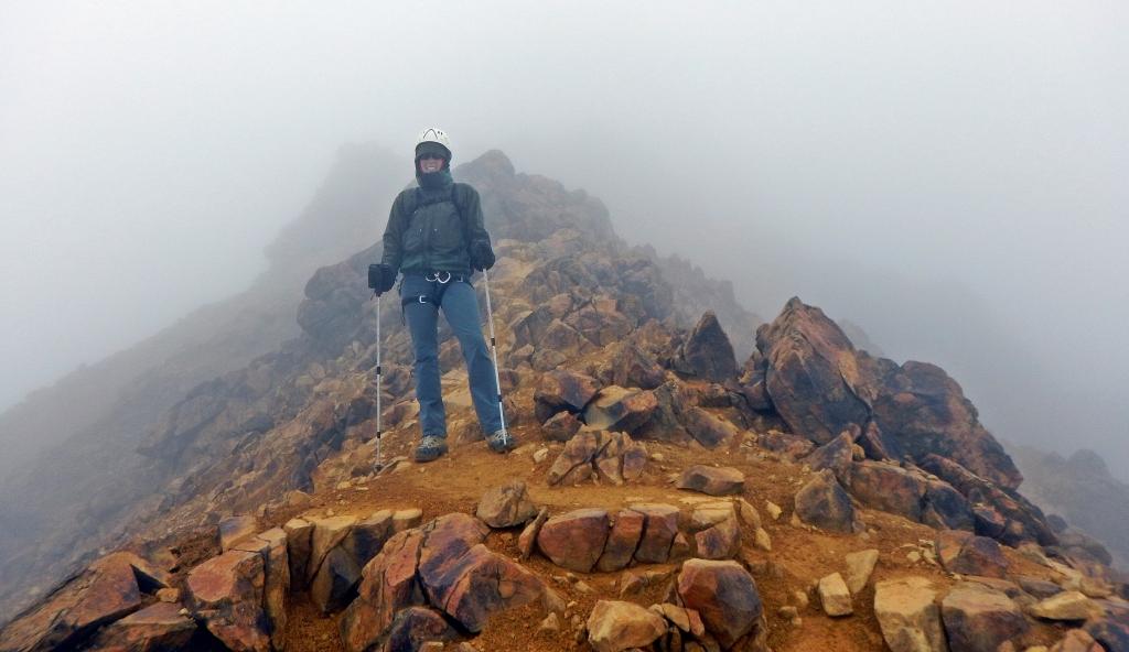 Illiniza Norte ridge, Ecuador