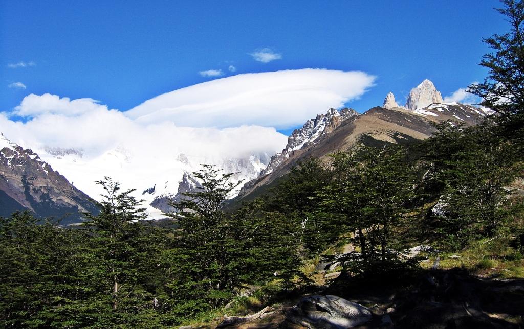View from Mirador del Torre, Parque Nacional Glaciares