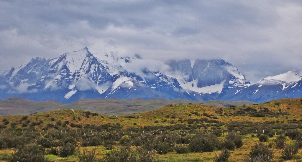 Approaching Parque Nacional Torres del Paine