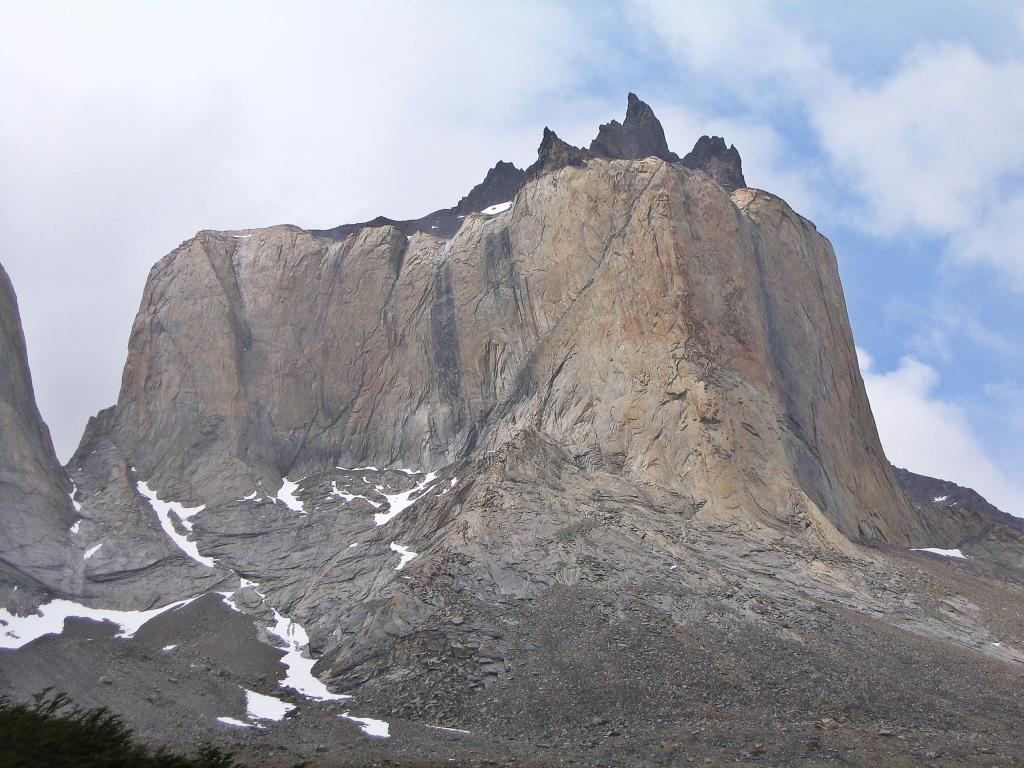 Cuernos del Paine from the Mirador