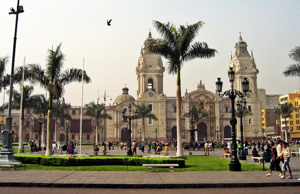 La Catedral, Plaza de Armas, Lima