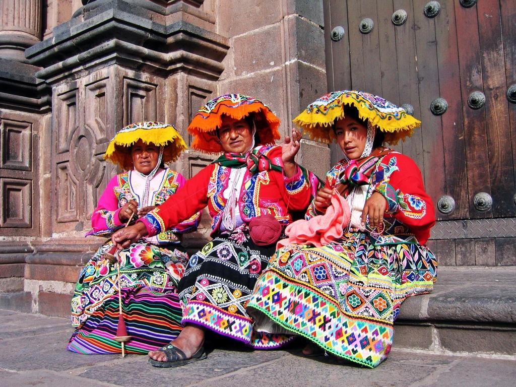 Quechua women, Cusco