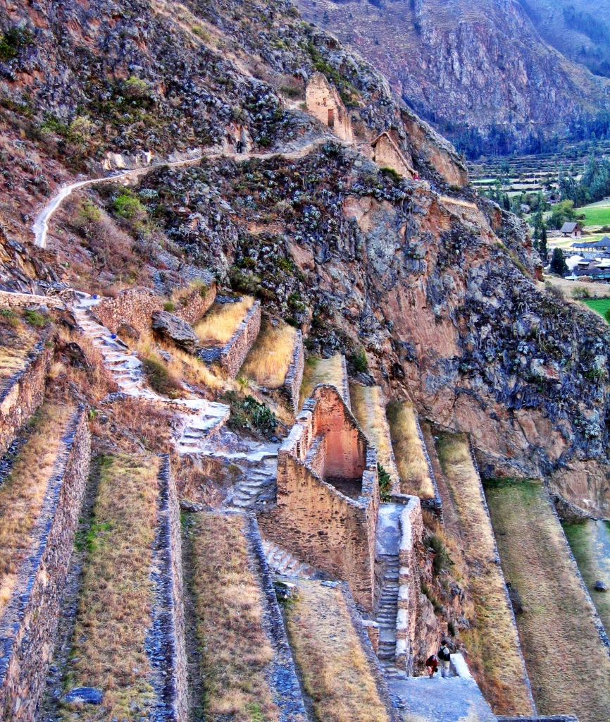 Terraces, Ollantaytambo, Peru