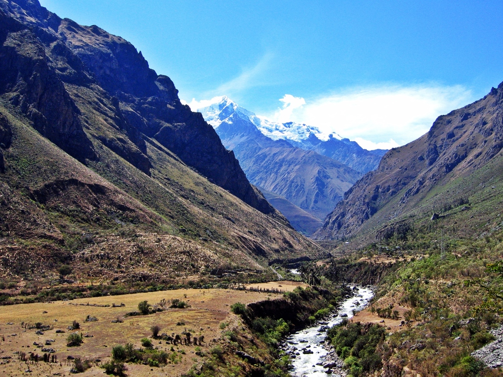 Urubamba River, Inca Trail