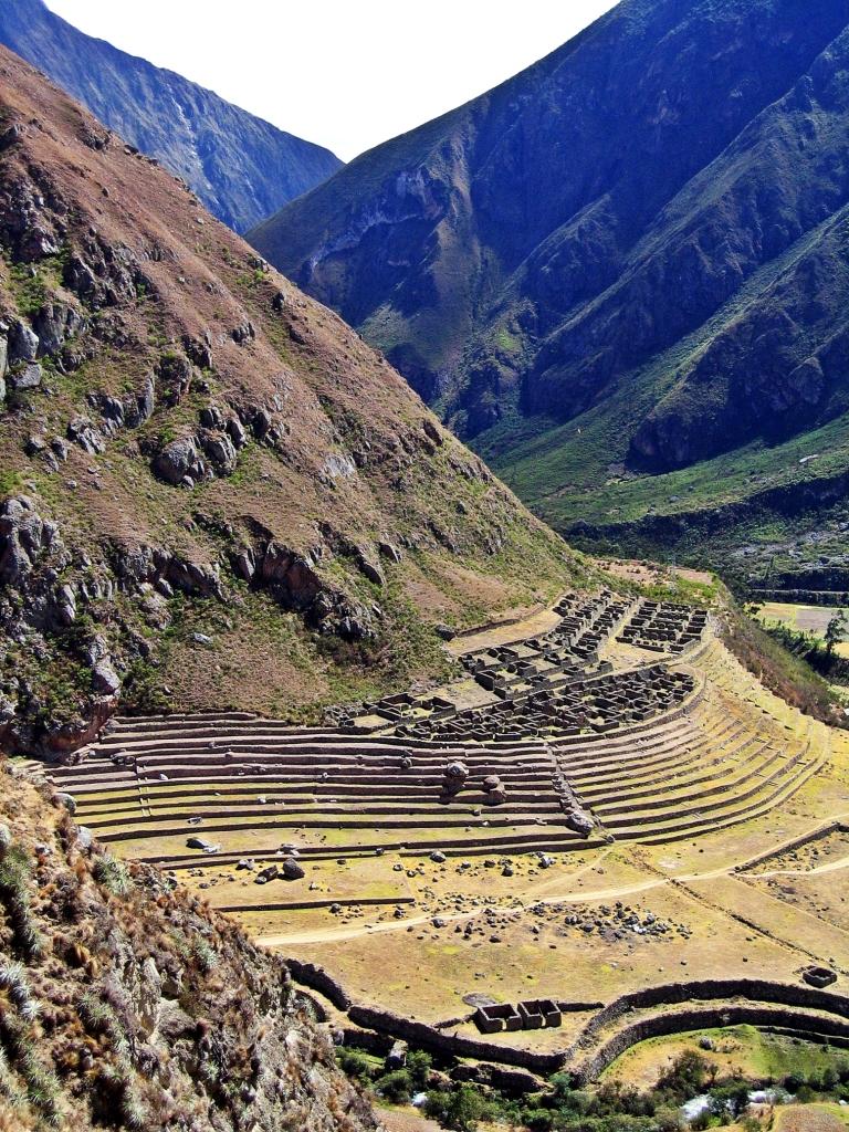 Llactapata, Inca Trail