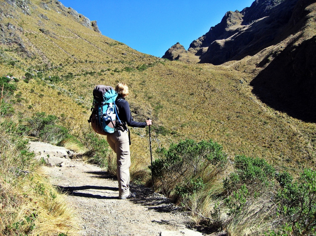 Below Dead Woman's Pass, Inca Trail