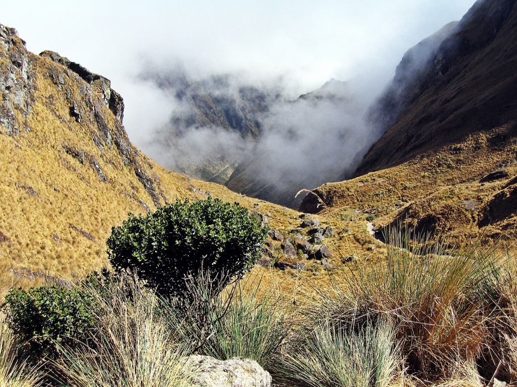View from Dead Woman's Pass, Inca Trail