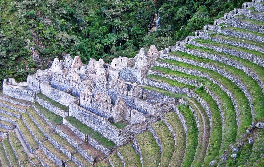 Intipata ruins, Inca trail