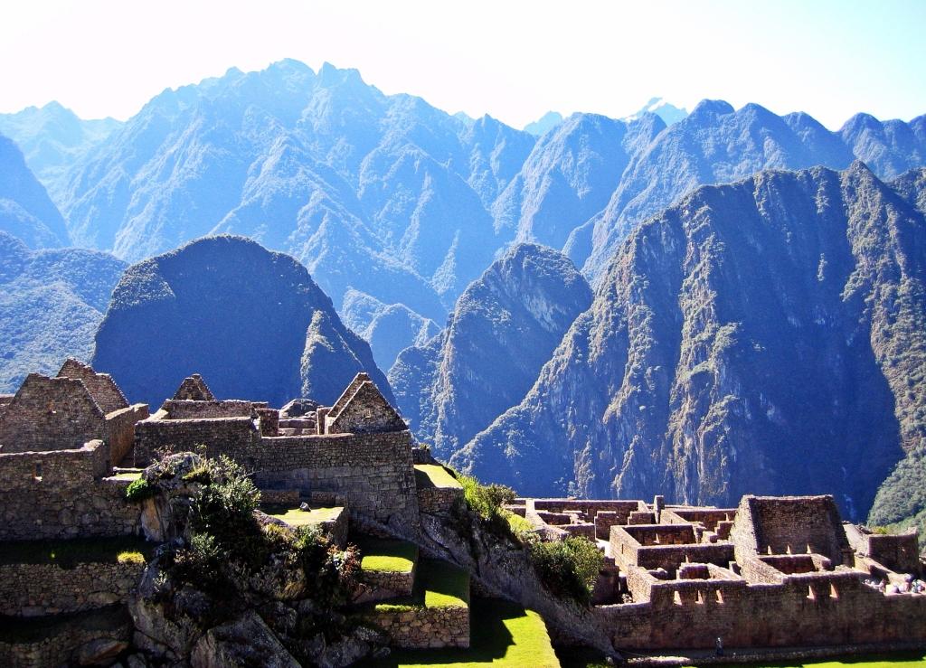 Buildings, Machu Picchu
