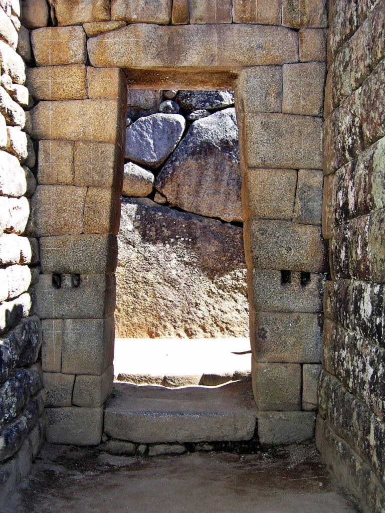 Doorway, Machu Picchu