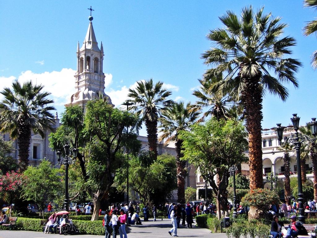 La Catedral, Plaza de Armas, Arequipa