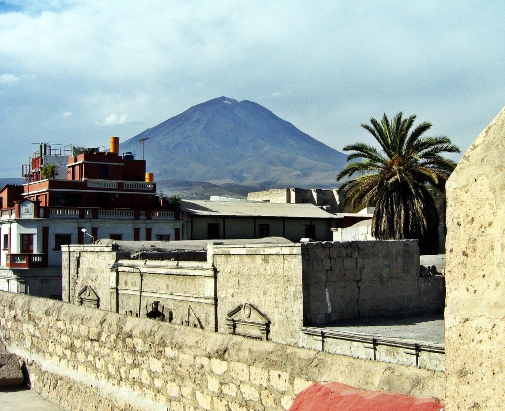 El Misti Volcano from Santa Catalina MonasteryArequipa