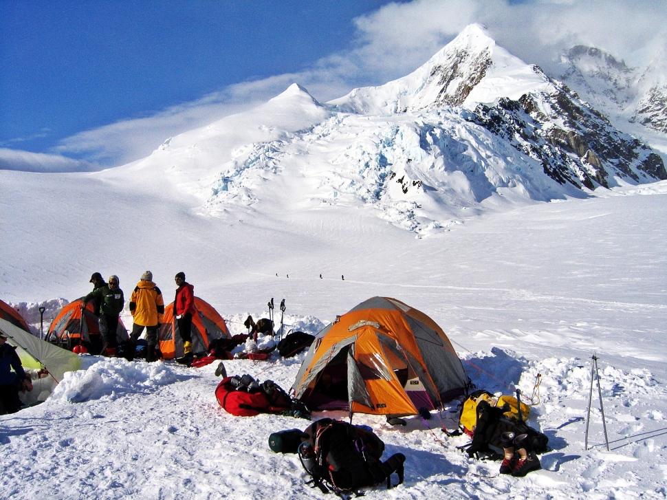 Camp 1, Denali Climb