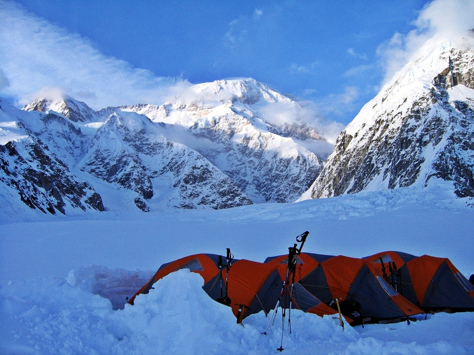 11:30 pm, Camp 1, Denali Climb
