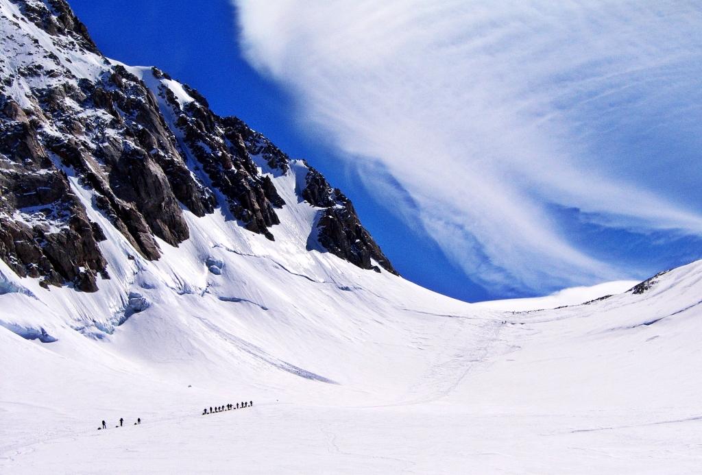 Climbing to Windy Corner, Denali Climb