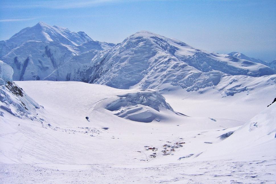 Above Camp 2, Denali Climb