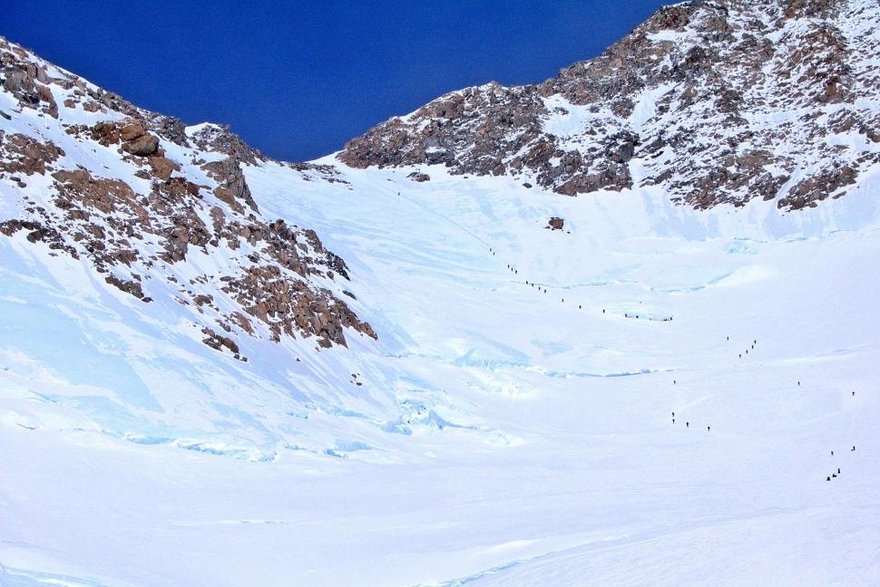 View of head wall from Windy Corner, Denali Climb