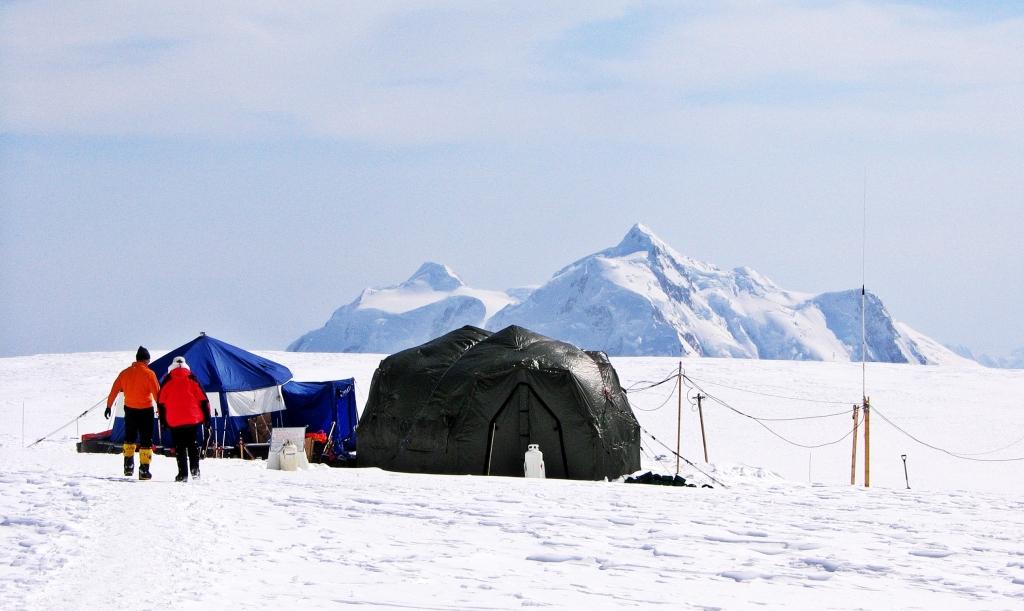 Medical tent, Camp 3, Denali Climb