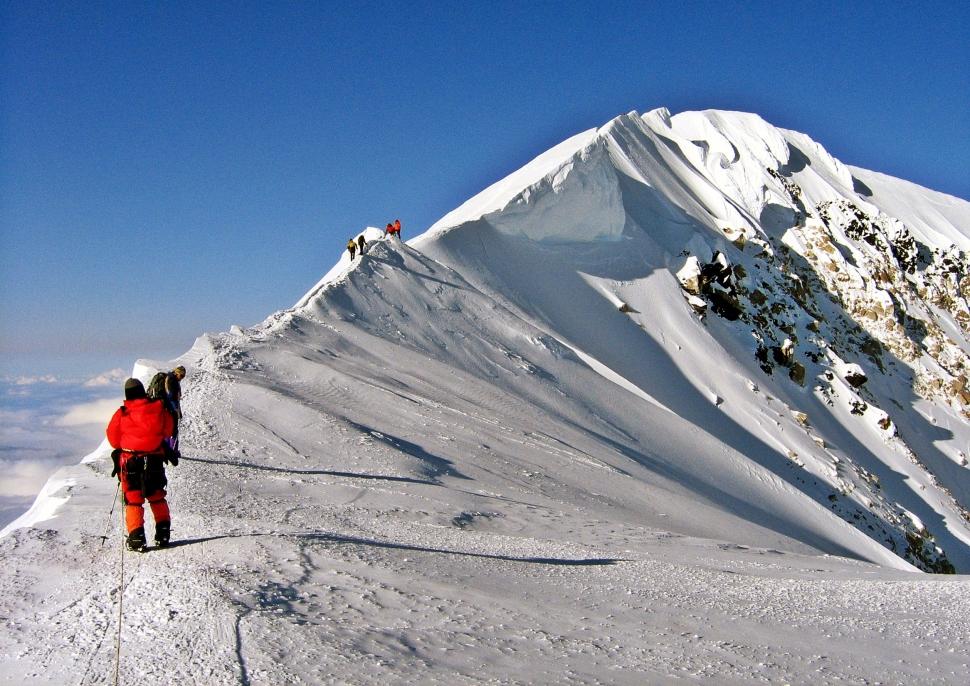 Summit Ridge, Denali climb