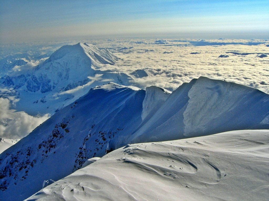 View from Denali Summit