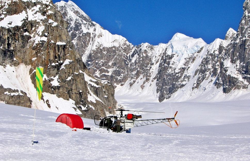 Kahiltna Airport, Denali climb