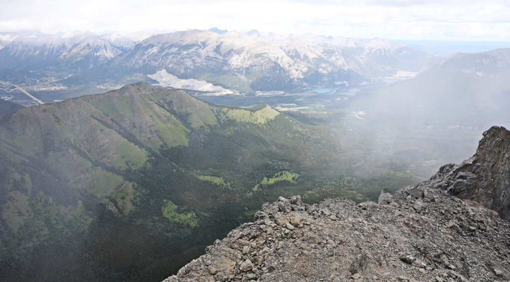 View from Windtower summit