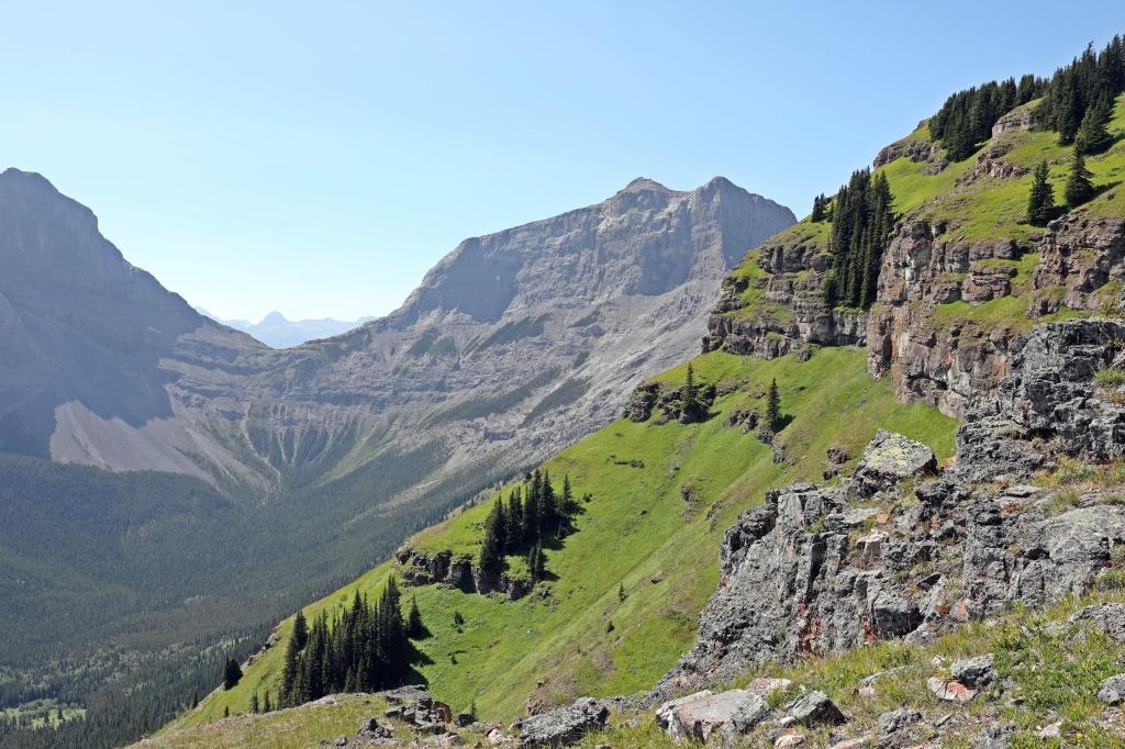 View on Wind Ridge Trek