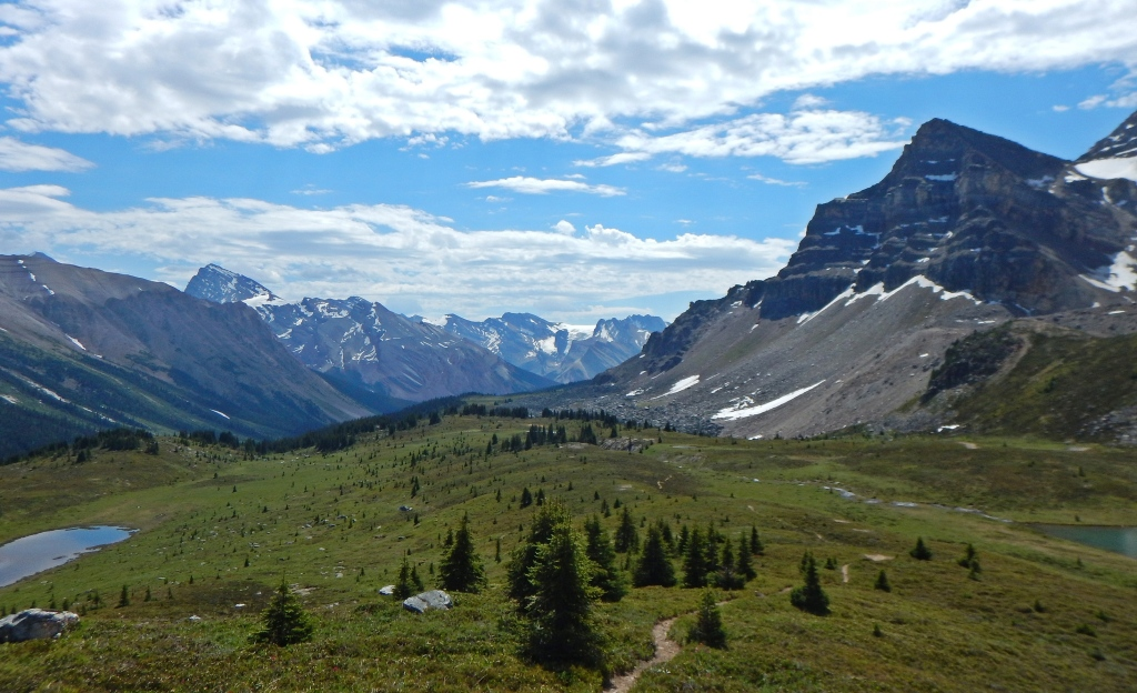 On the way to Pipestone Pass, Banff