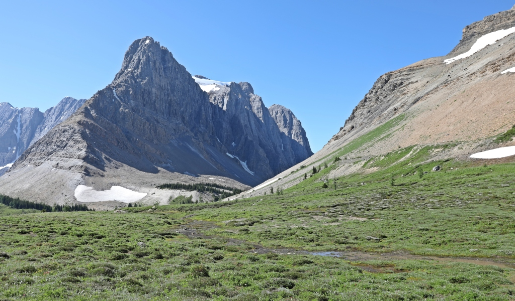 Toward Wolverine Pass