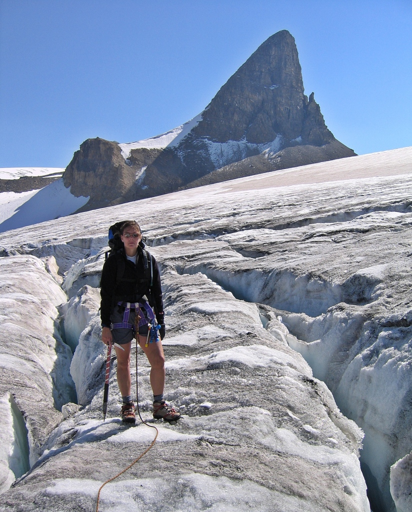 Bow Glacier and St. Nicholas, Wapta Traverse