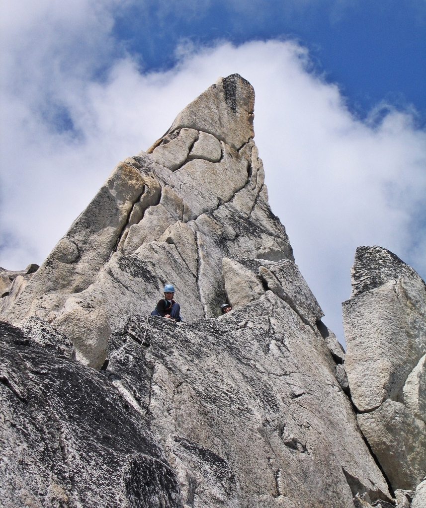 Below the Gendarme, Bugaboo Spire
