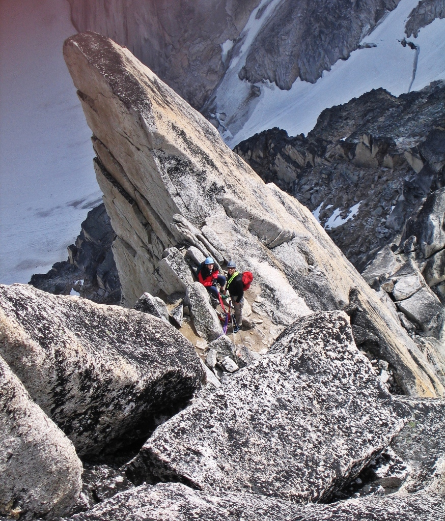 At the Gendarme, Bugaboo Spire