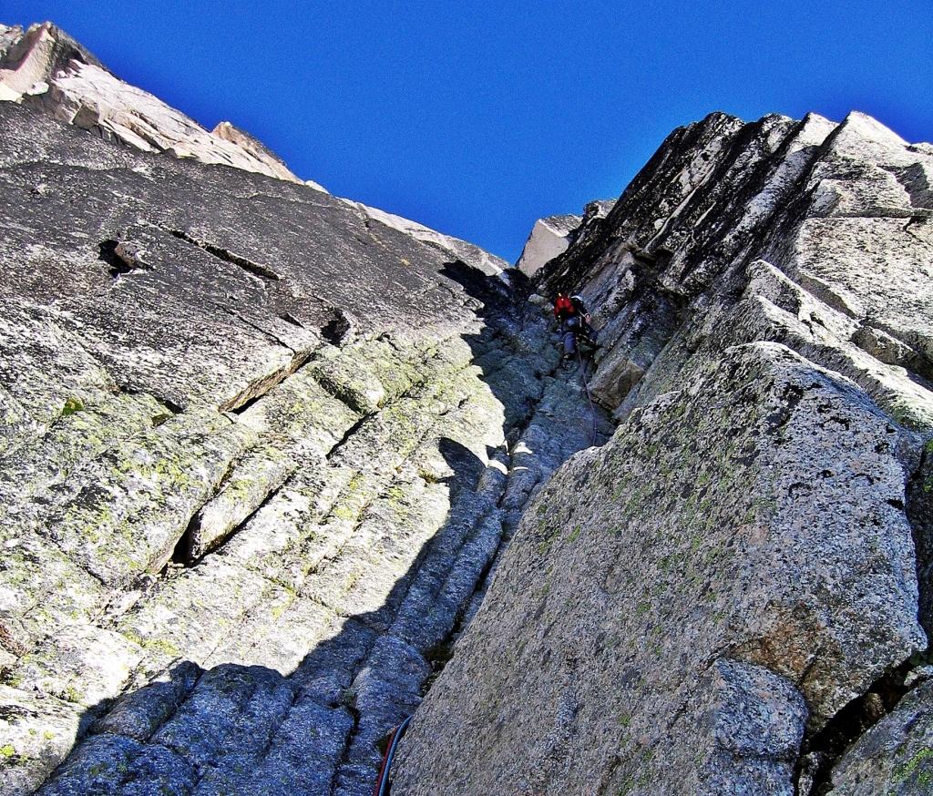 Climbing Snowpatch, Bugaboos