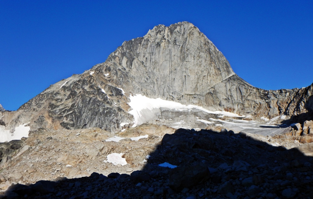 Bugaboo Spire from near Applebee Campsite
