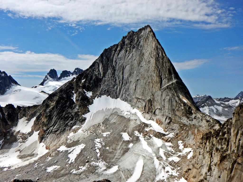 Bugaboo Spire from Crescent Towers