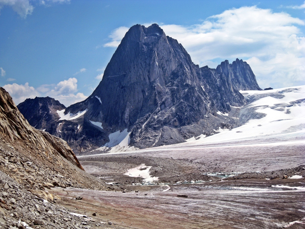 Bugaboo Spire and the Vowell Glacier, Bugaboos