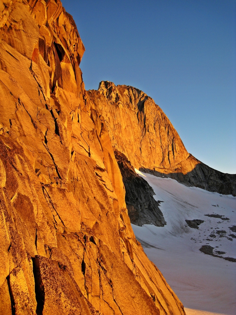 Sunrise on Snowpatch, Bugaboos