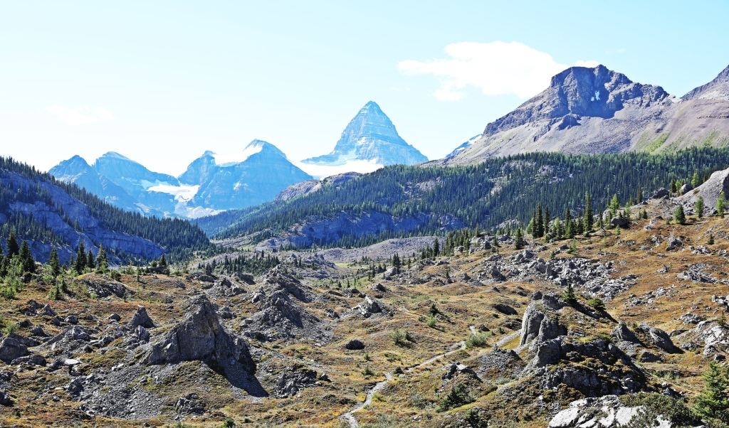 Above Og Lake, Mount Assiniboine Provincial Park