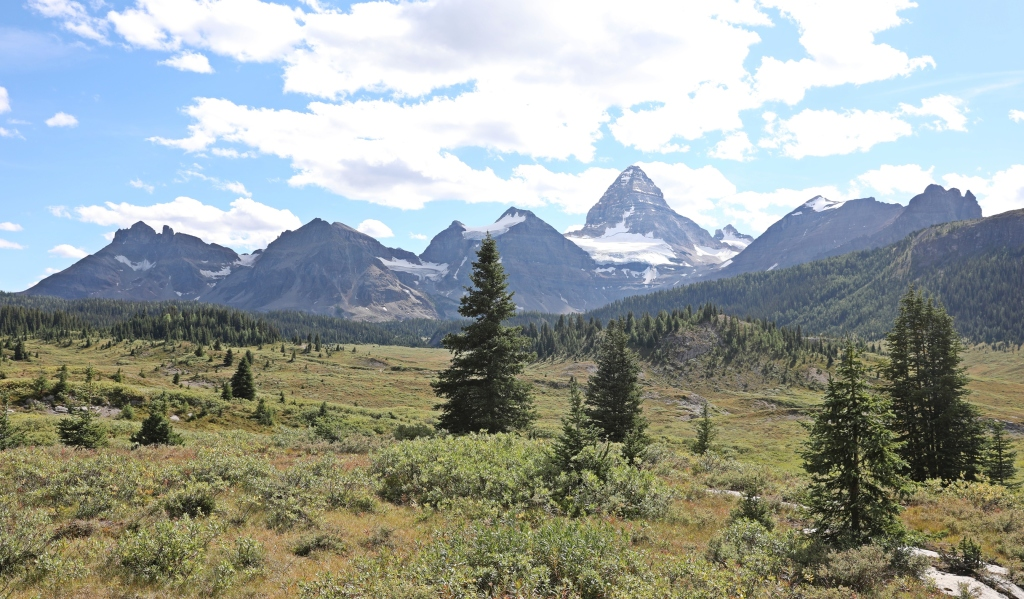On the hike to Og Pass, Mount Assiniboine Provincial Park
