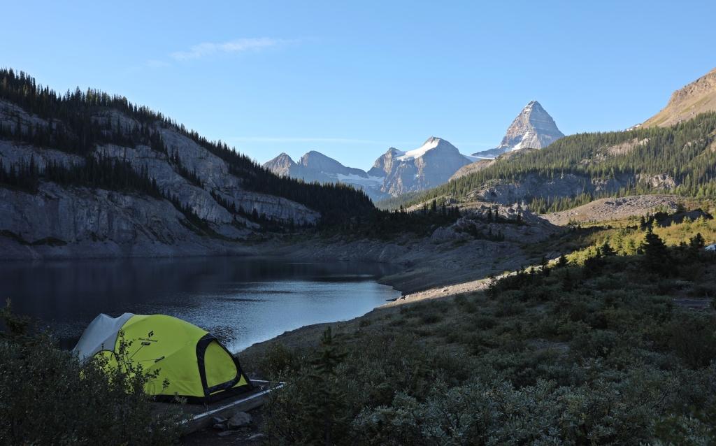 Og Lake Camground, Mount Assiniboine Provincial Park