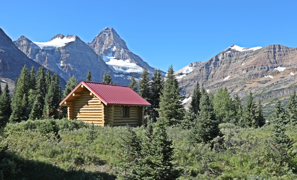 One of the cabins, Mount Assiniboine Lodge