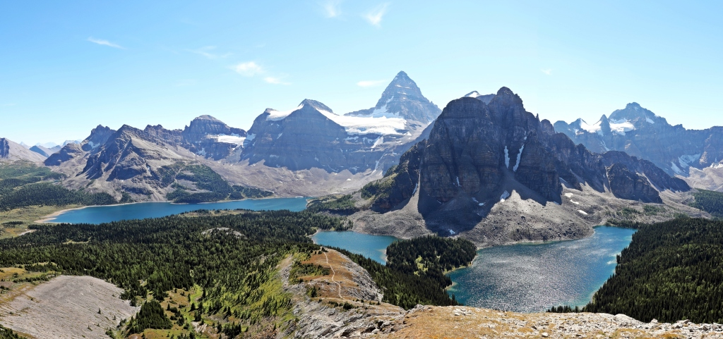 View from Nublet, Mount Assiniboine Provincial Park