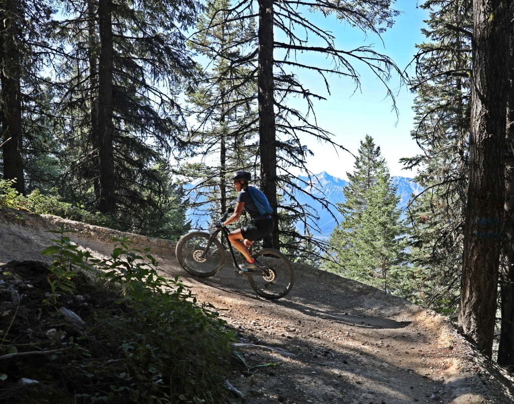 Biking on Schacher, Mount 7