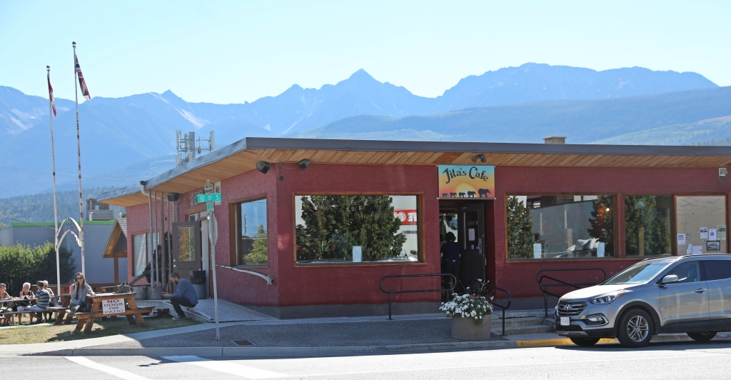 Jita's Cafe, Golden, BC