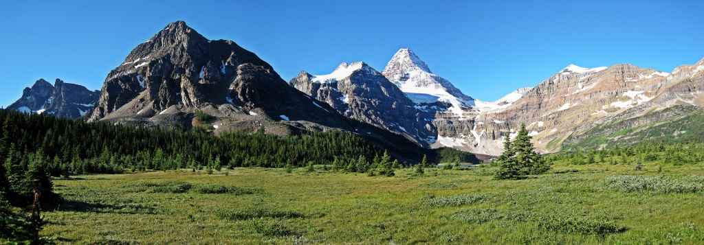 Mount Assiniboine from Og Meadows, Summer 2008