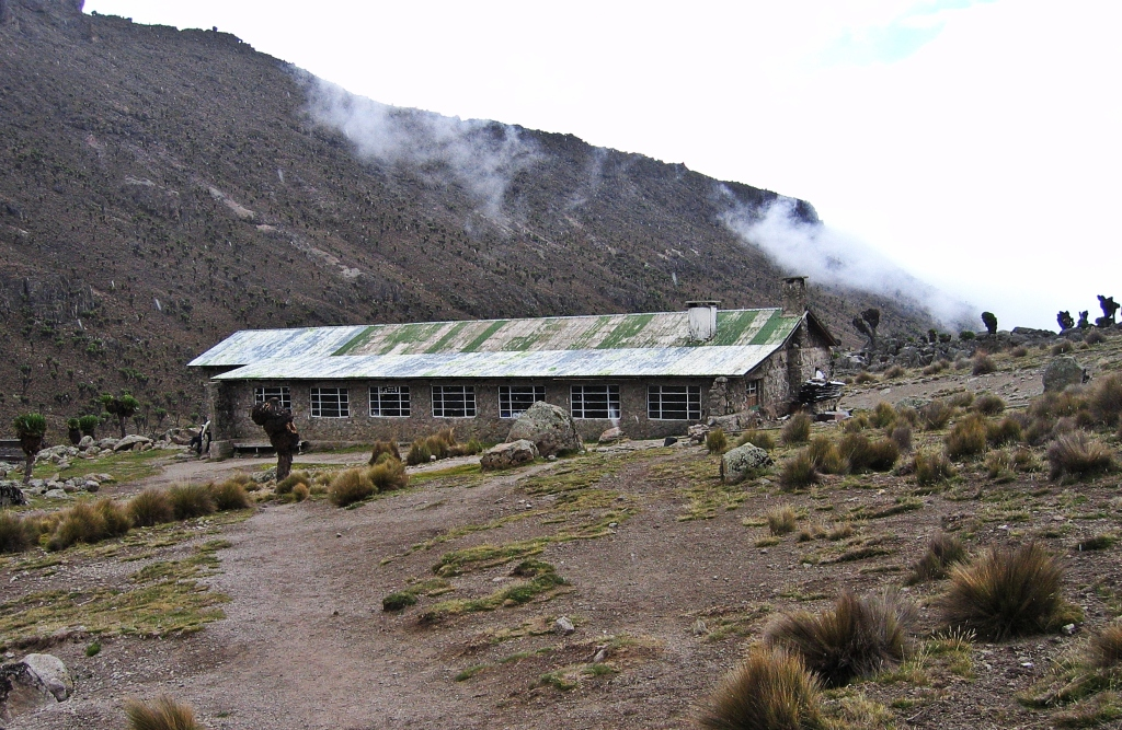 Mackinder's Hut, Mount Kenya
