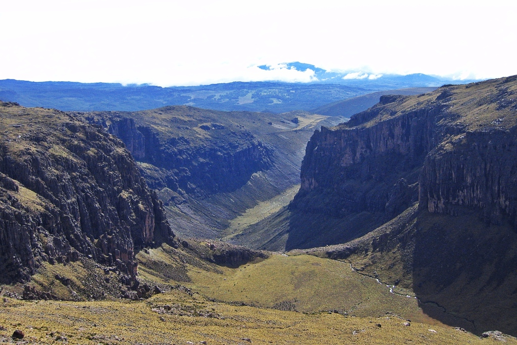 Gorges Valley, Mount Kenya