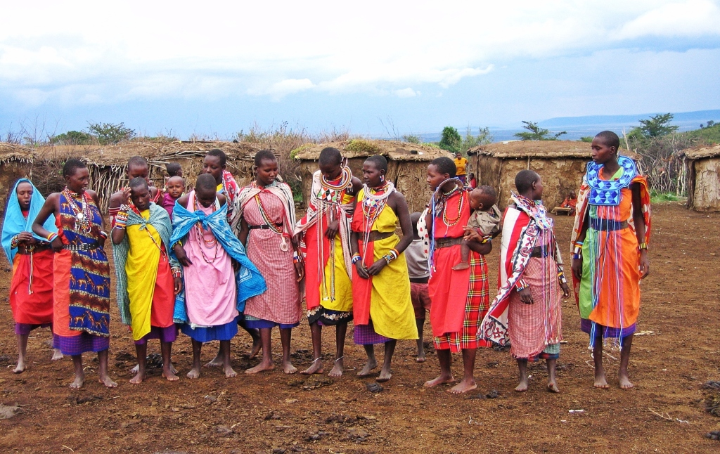 Maasai women, Maasai Mara National Reserve