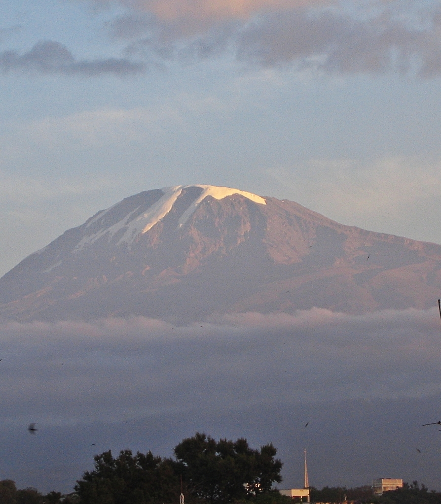 Kilimanjaro from Moshi