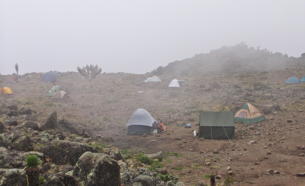 Baranco Hut, Mount Kilimanjaro